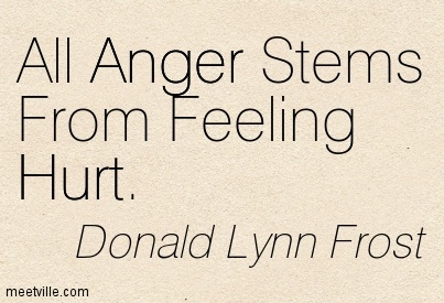 What if it wasn't about the ANGER?